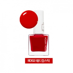 Holika Holika Piece Matching Nails - Lacquer - Лак для ногтей тон  RD02, красная помада, 10 мл
