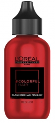 L'Oreal Professionnel Colorful Hair Flash Red Hot - Краска для волос Клубничный алый, 60 мл
