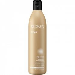 Redken All Soft Shampoo - Смягчающий шампунь, 500 мл