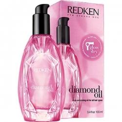 Redken Diamond Oil Glow Dry - Термозащитное масло, 100 мл