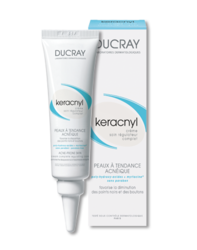 Ducray Keracnyl - Керакнил Регулирующий крем, 30 мл