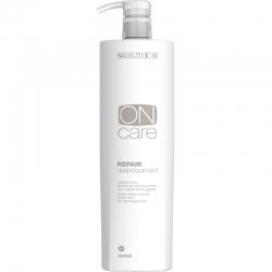 Selective On Care Nutrition Repair Deep Treatment - Средство глубокого восстановления поврежденных волос 1000 мл
