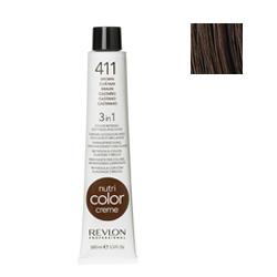 Revlon Professional NСС - Краска для волос 411 Холодный коричневый 100 мл