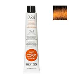 Revlon Professional NСС - Краска для волос 734 Медно-золотой 100 мл