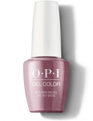 OPI Iceland Gel Color - Гель-Лак для ногтей Reykjavik Has All the Hot Spots, 15 мл