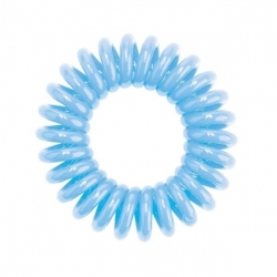 Hair Bobbles HH Simonsen - Резинка для волос голубая, 3 шт.