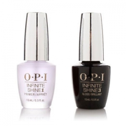 Opi Infinite Shine Duo Pack, - Набор, 2*15мл