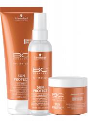 Schwarzkopf BC Bonacure Sun Protect Set - Набор Защита от солнца 200 мл+150мл+150 мл