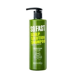 Secret Key The So Fast Scalp Solution Shampoo - Шампунь укрепляющий с экстрактом зеленого чая, 500 мл