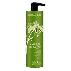 Selective Professional Nutri Shampoo - Шампунь питательный для восстановления волос, 1000 мл