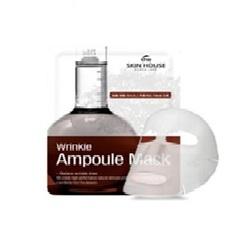 The Skin House Wrinkle Ampoule Mask - Тканевая маска от морщин с коллагеном, 20г