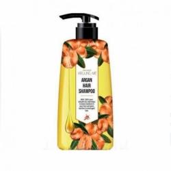 Welcos Around Me Damage Argan Hair Shampoo - Шампунь с аргановым маслом для поврежденных волос, 500мл