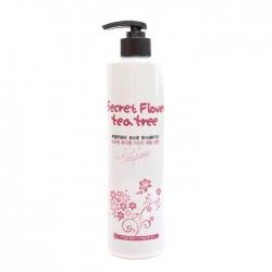 Bosnic Secret Flower Teatree Perfume Shampoo - Шампунь для волос с цветочным ароматом 500 мл