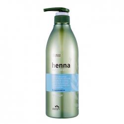 Flor de Man with Flowers Henna Hair Shampoo - Шампунь для волос Восстанавливающий с экстрактом лавсонии и керамидами, 730 мл