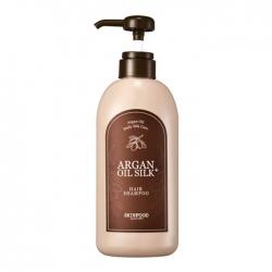 Skinfood Argan Oil Silk Plus Hair Shampoo - Шампунь для волос на основе арганового масла, 500 мл
