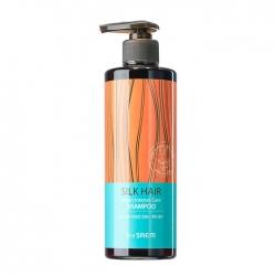 The Saem Silk Hair Argan Intense Care Shampoo - Шампунь для волос с аргановым маслом, 380 мл