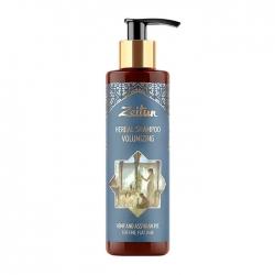 Zeitun Herbal Shampoo Volumizing Hemp & Assyrian Rye - Фито-шампунь для густоты и объёма волос с коноплёй и рожью, 250мл