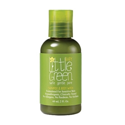Little Green Baby Shampoo & Body Wash - Шампунь и гель для тела, без слез  60мл