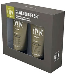 American Crew - Набор Crew Shave CRM/Shave Lotion Duo (Лосьон после бритья Post Shave ooling Lotion, 125 мл; Крем для бритья Moisturing Shave Cream, 150 мл