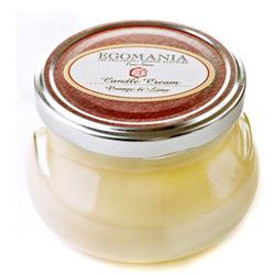 "Egomania Candle Body Cream ""Orange and Lemon"" - Свеча-Крем для тела ""Апельсин и Лимон"" 290 мл"