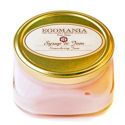 """Egomania Body cream """"Strawberry Jam"""" (syrup and jam) - Крем для тела """"Клубничный Джем"""" (Сироп И Джем) 370 мл"""
