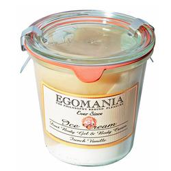Egomania The gel and body cream (cream) French Vanilla - Гель и Крем для тела (Мороженое) Французская Ваниль 290 мл