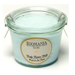 Egomania Body Butter Milk Ocean & Sea Weeds - Крем-масло для тела Океан и Морские Водоросли 220 мл