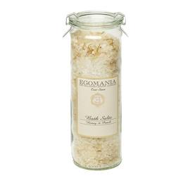 Egomania Honey & Peach - Соль для ванны Мед и Персик 600 мл