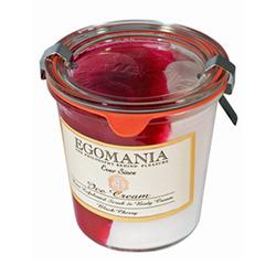 Egomania Exfoliation and body cream (cream) Cherry - Пилинг и Крем для тела (Мороженое) Черешня 290 мл