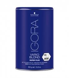 Schwarzkopf Igora Vario Blond Powder Lightener Super Plus  - Пудра для обесцвечивания волос, 450 г