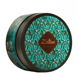 Zeitun Ritual of Freshness Hair Scrub - Маска-скраб для свежести волос и кожи головы с зелёным чаем и био-серой, 200мл