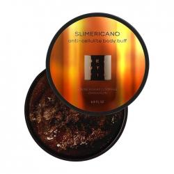 Beautific Slimericano Anti-Cellulite Body Buff - Сахарный антицеллюлитный скраб для тела, 200 мл