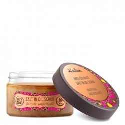 Zeitun Anti-Cellulite Salt In Oil Scrub Grapefruit & Bergamot №5 - Скраб для тела Антицеллюлитный с эфирными маслами, 250мл
