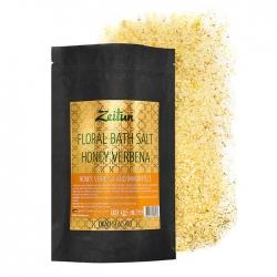 Zeitun Floral Bath Salt Honey Verbena - Соль для ванны Цветочная с мёдом и цветами вербены, 500г