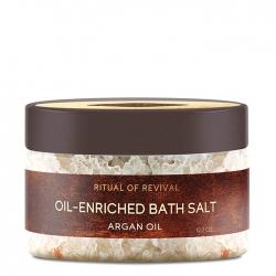 Zeitun Ritual Of Revival Oil-Enriched Bath Salt - Argan Oil - Соль для ванны с маслом арганы, 250мл
