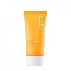 A'pieu Pure Block Daily Sun Cream - Крем Солнцезащитный с экстрактом арбуза и алоэ вера, 50 мл