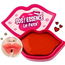 Berrisom SOS! Essence Lip Patch - Маска-патч для губ с коллагеном, 30 шт