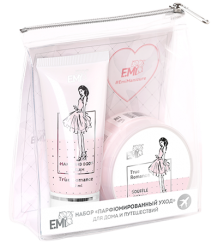 E.MI True Romance Care System - Набор True Romance Парфюмированный уход (крем-суфле 50 г + крем 30 мл)