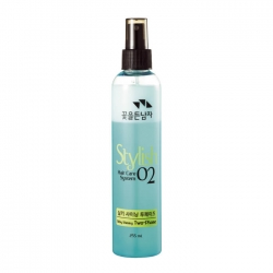 Flor de Man with Flowers Hair Care System Hair Silky Shining Two-Phase - Восстанавливающий спрей для волос, 255 мл