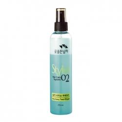 Flor de Man with Flowers Hair Care System Hair Silky Shining Two-Phase - Восстанавливающий спрей для волос, 510 мл