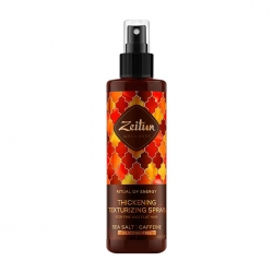 Zeitun Ritual of Energy Thickening Texturizing Spray - Спрей текстурирующий для рляжных локонов, 200мл