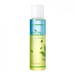 It's Skin Green Tea Calming Lip & Eye Cleansing Remover - Средство для снятия макияжа с экстрактом зелёного чая, 125 мл