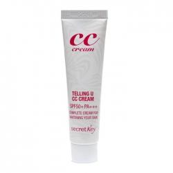 Secret Key Telling U CC Cream - СС крем с функцией осветления и высокой УФ защитой, 30 мл