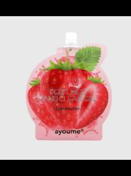 Ayoume perfumed hand clean gel [strawberry] - Гель для рук с экстрактом клубники, 20мл