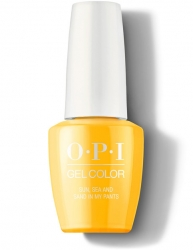 OPI Lisbon Gel Color - Гель-Лак для ногтей Sun, Sea, and Sand in My Pants, 15 мл