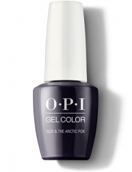 OPI Iceland Gel Color - Гель-Лак для ногтей Suzi & the Arctic Fox, 15 мл