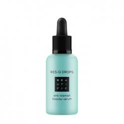 Beautific Res-Q Drops Anti-Blemish Booster Serum - Сыворотка-бустер с BHA и цинком против несовершенств и жирности кожи, 30 мл
