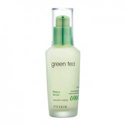 It's Skin Green Tea Watery Serum - Сыворотка для лица Увлажняющая с экстрактом зелёного чая, 40 мл