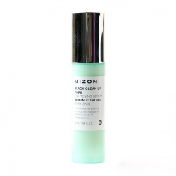 Mizon Black Clean Up Pore Tightening Serum - Сыворотка для лица Отшелушивающая для сужения пор, 50 мл