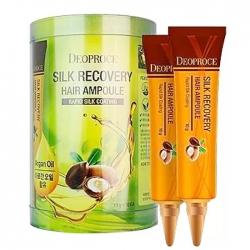 Deoproce Silk Recovery Hair Ampoule - Сыворотка для волос восстанавливающая, 10гр